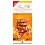 Lindt Les Grandes Hazelnut & Caramel Milk Chocolate Bar