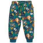Frugi Organic Cosy Soft Kneepatch Crawlers in Animal Print