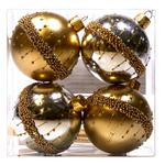 Waitrose Gold Bauble Set