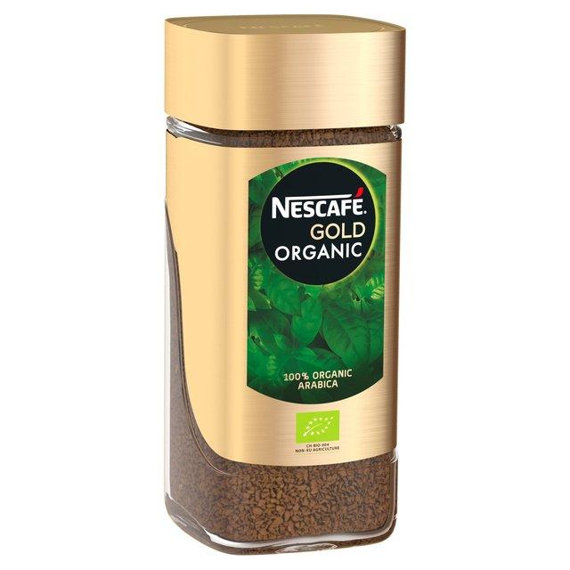 Nescafe Gold Organic Instant Coffee Ocado