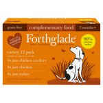 Forthglade Just 90% Poultry Variety (Turkey, Chicken, Liver) Wet dog food