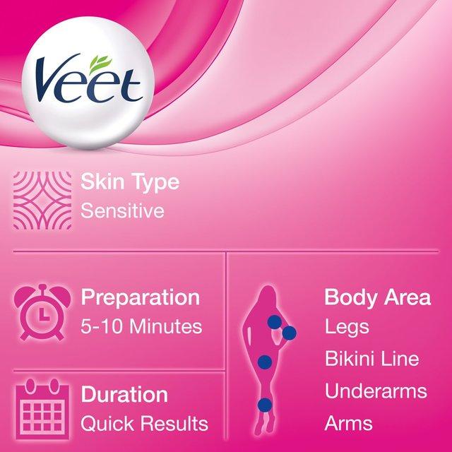 Veet Spray On Hair Removal Cream Sensitive Skin 150ml From Ocado