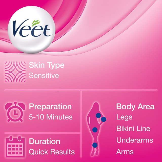 Veet Spray On Hair Removal Cream Sensitive Skin Ocado