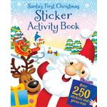 Santa's First Christmas Sticker & Activity Book
