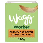 Wagg Working Wet Dog Food Turkey