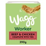 Wagg Working Wet Dog Food Beef