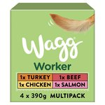 Wagg Working Wet Dog Food Multi Pack Mixed Flavours