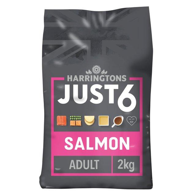Harringtons Just 6 Salmon Sweet Potato Ocado