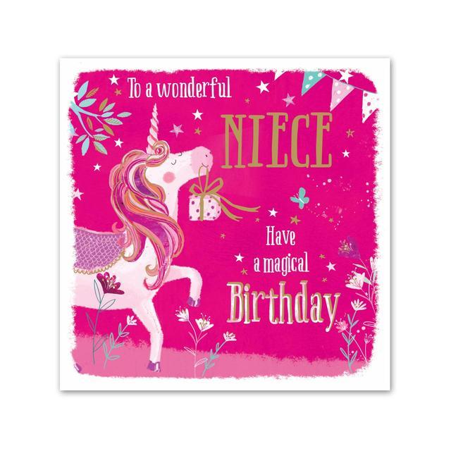 Birthday Card For Niece.Niece Birthday Card Ocado
