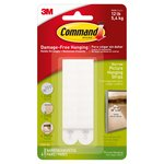 Command Picture Hanging Strips White Narrow (4 sets/pk)
