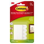 Command Picture Hanging Strips White Small (4 sets/pk)