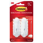 Command Wire Hooks Medium (2 hooks, 4 strips/pk)