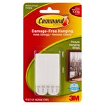 Command  Picture Hanging Strips White Medium (4 sets/pk)