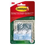 Command Outdoor Light Clips (16 clips, 20 strips/pk)