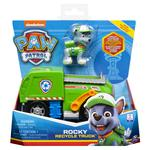 Paw Patrol Core Vehicle with Pup Rocky