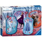 Disney Frozen 2, 4 Large Shaped Jigsaw Puzzles (10,12,14,16pc)
