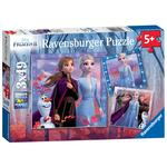 Disney Frozen 2, 3x 49pc Jigsaw Puzzles