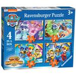 Paw Patrol Mighty Pups 4 in a Box