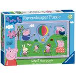 Peppa Pig 24pc Giant Floor Puzzle with Large Shaped Character pieces