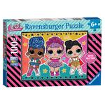 LOL Surprise! XXL 100pc Jigsaw Puzzle with Glitter