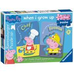 My First Puzzles, Peppa Pig 6x 2pc Jigsaw Puzzles