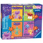 School of Roars First Jigsaw Puzzles, 18 mths+