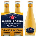 San Pellegrino Organic Orange Glass