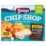 Young's Chip Shop 4 Omega 3 Fish Fillets
