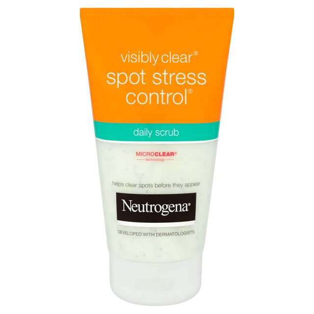 neutrogena visibly clear daily scrub 150ml from ocado. Black Bedroom Furniture Sets. Home Design Ideas