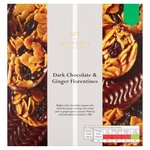Waitrose 1 Dark Chocolate & Ginger Florentines