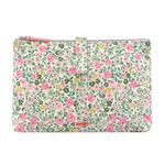 Cath Kidston 2 Part Matt Zipped Washbag Hedge Rose
