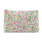 Cath Kidston Matt Zip Cosmetic Bag Hedge Rose
