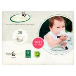 Bamaboo by Mama Bamboo Eco-disposable Bamboo Nappies Size 3 Essentials