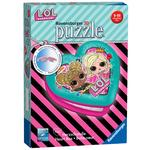 LOL Surprise, Heart Shaped 54pc 3D Jigsaw Puzzle