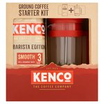 Kenco Ground Coffee Starter Kit with Cafetiere