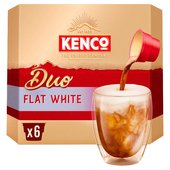 Kenco Duo Flat White Instant Coffee