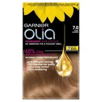 Garnier Olia 7.0 Dark Blonde Permanent Hair Dye