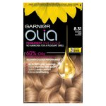 Garnier Olia 8.31 Golden Ash Blonde Permanent Hair Dye