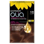 Garnier Olia 5.35 Rich Chocolate Brown Permanent Hair Dye