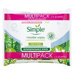 Simple Micellar Facial Wipes