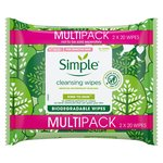 Simple Bio-degradable Facial Wipes