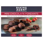 Baking Agent Mini Chocolate Fondants, Frozen, Bake at Home