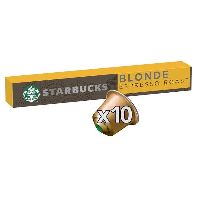 Starbucks By Nespresso Blonde Espresso Roast Coffee
