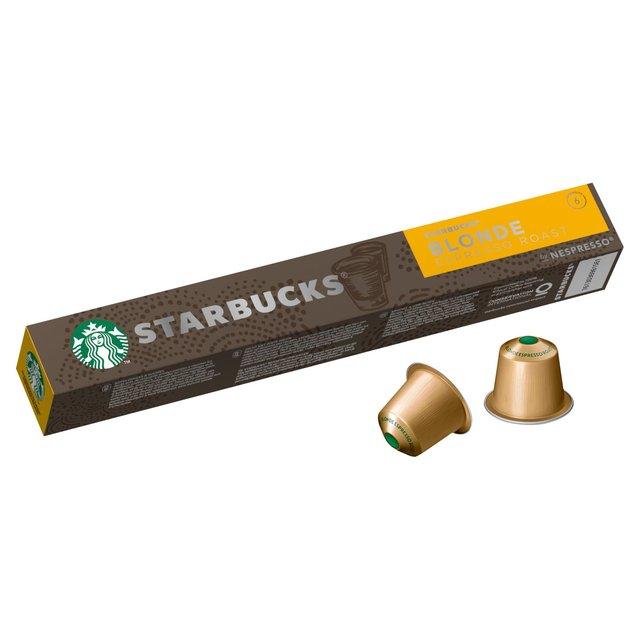 Starbucks By Nespresso Blonde Espresso Roast Coffee Pods Ocado