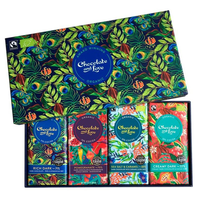 Chocolate And Love Rich Dark Gift Box Ocado