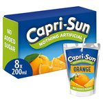 Capri-Sun No Added Sugar Orange