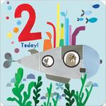 2nd Submarine Birthday Card