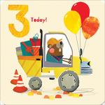 3rd Digger Birthday Card