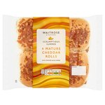 Waitrose Mature Cheddar & Cracked Black Pepper Rolls