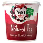 YVO Natural Top Black Cherry Yogurt
